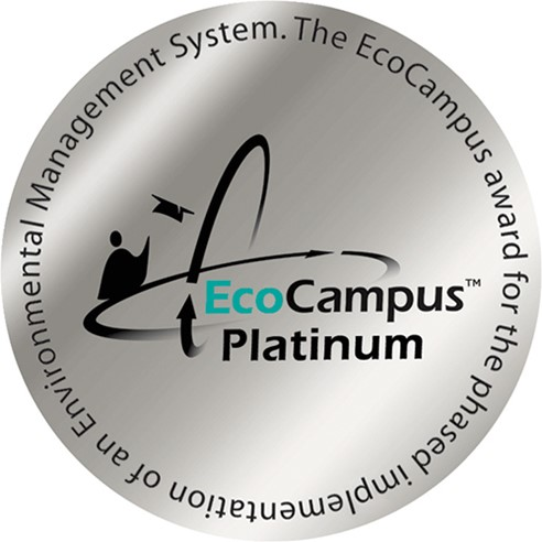 Eco Campus Platinum Award for Environmental Management System